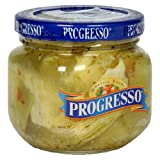 Progresso Artichokes Marinated, 6-Ounce Jars (Pack of 12)