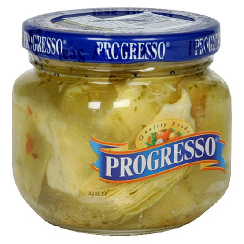 Progresso Artichokes Marinated, 6-Ounce Jars (Pack of 12) by Progresso
