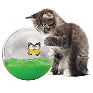 Jackson galaxy butterfly in a ball cat toy for Jackson cat toys