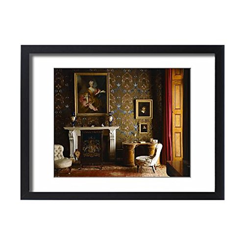 Framed 24x18 Print of Brodsworth Hall K950506 (551964) (Like Wallpaper Border Home Place)