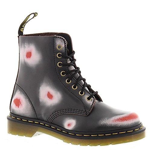 Navy Red Off Pascal White Rub Martens Dr Leather Women's WAInHYHq