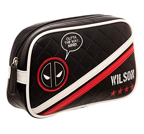 Marvel Comics Deadpool Cosmetic Travel Toiletry Make Up Bag Wilson Licensed]()
