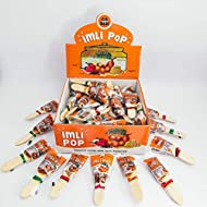 GO DESi 'Imli Pop': All Natural Tamarind Jaggery candy - Sour, Sweet & Spicy (No Added Sugar & Preservatives) (50 Piece Pack)