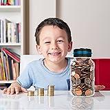 Powstro Piggy Bank Digital Counting Coin Bank