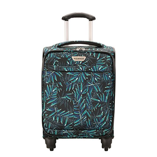 Ricardo Beverly Hills Mar Vista 2.0 17-Inch Carry-on Spinner, Mystic Green Palm by Ricardo Beverly Hills