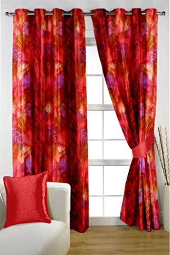 HOMEC Trendy Printed Curtain Set of 2