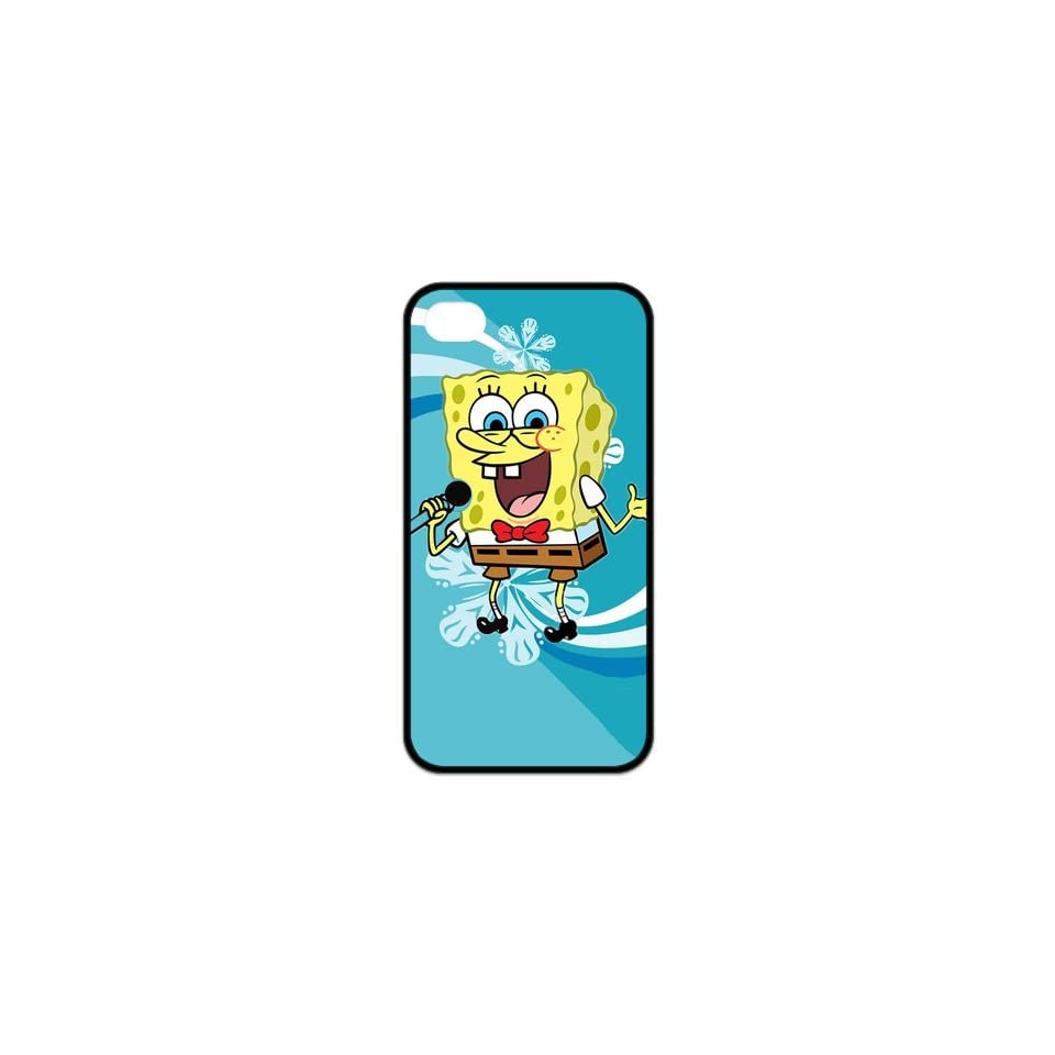 FashionFollower Design Animation Series SpongeBob SquarePants Hot Phone Case Suitable For iphone4/4s IP4WN32907