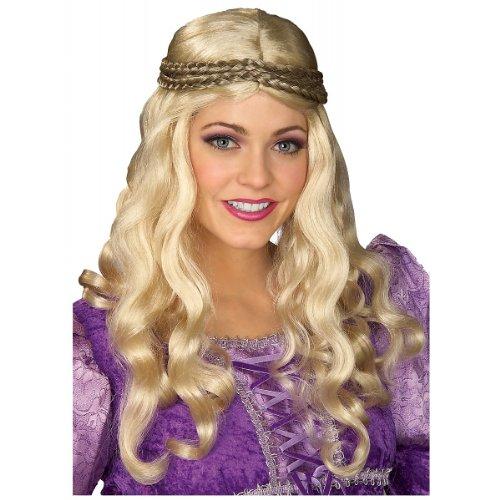 Renaissance Woman Blonde Wig - (Renaissance Girl Adult Wig)