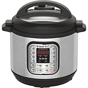 Instant Pot DUO80 7-in-1 Multi-Use Programmable Pressure Cooker, 8 Qt | Stainless Steel