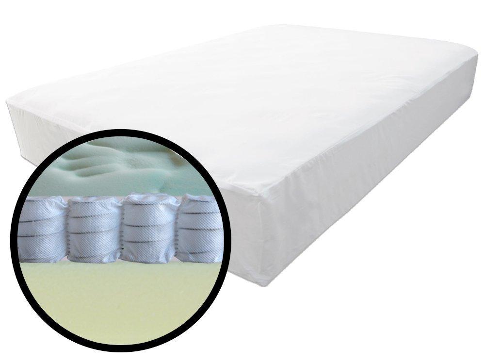 The Futon Shop Healthy Rest Soy Gel Memory Foam and MicroCoils Firm Futon Mattress Cal King