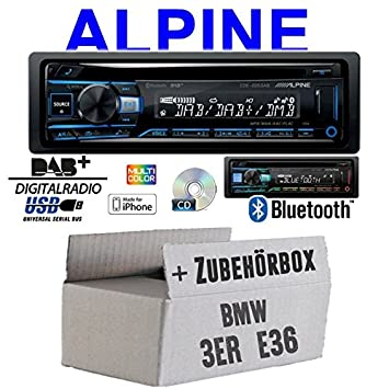 E36, 1990-2000 Pioneer CD USB AUX DAB MP3 Autoradio für BMW