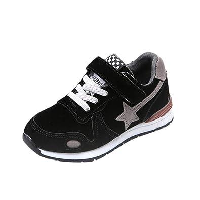b9b38a9d96f317 ELECTRI Garçon Fille Chaussure de Course Loisirs Chaussures de Sports Star Mesh  Sneakers Baskets Running Enfants