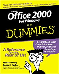 [(Microsoft Office 2000 for Windows For Dummies )] [Author: Wallace Wang] [May-1999]
