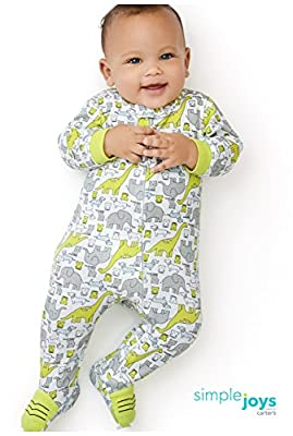 Simple Joys by Carter's Baby Boys' 2-Pack Cotton Footed Sleep and Play by Simple Joys by Carter's that we recomend individually.