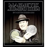 Magnetic Jumbo Coin With DVD (2 EURO) by Anton Corradin