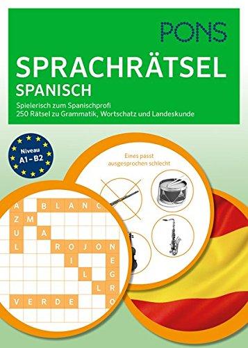 PONS Sprachrätsel Spanisch  Spielerisch Zum Spanisch Profi