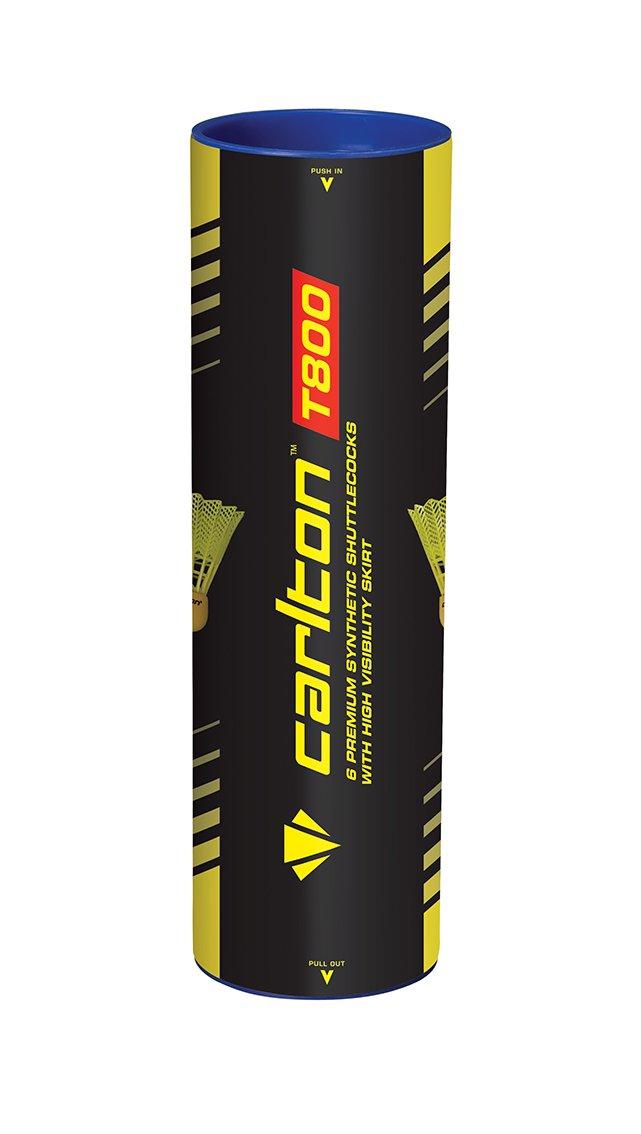 Dunlop Carlton Tournament T800 Palline da badminton, Unisex, 3776, Rot, Taglia unica