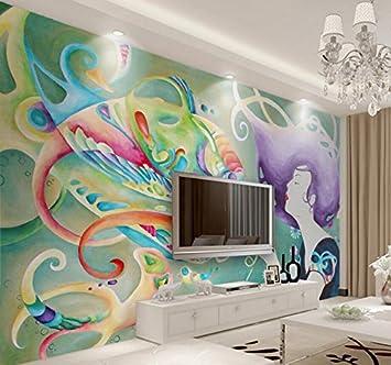 LHDLily 3D Papier peint Wallpaper Fresque Mural Fond D\'Écran ...