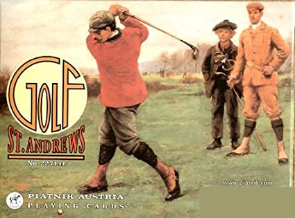 Puente doble: St, Andrews Golf. 2 x 55 cartas.: Amazon.es ...