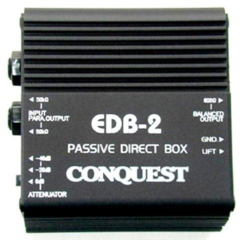 Conquest Sound EDB2 Passive Direct Box by Conquest Sound