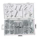 Spring Assortment Kit Set 200 Pcs Compression