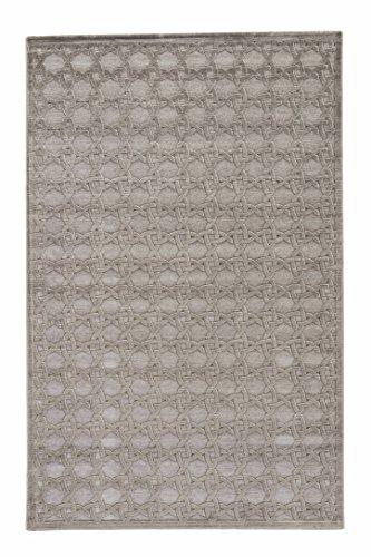 Jaipur Living Trella Trellis Gray/Silver Area Rug (2' X 3') from Jaipur Living