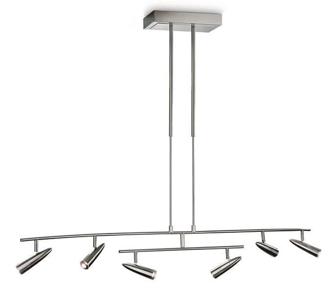 Philips myLiving Benson 379161716 - Lámpara de techo (6 ...