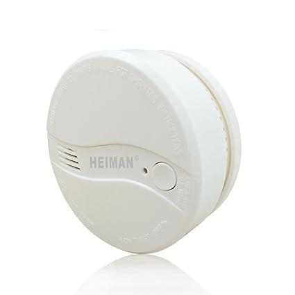 Heiman - Alarmas de humo alimentadas por red eléctrica para el hogar - 622PS