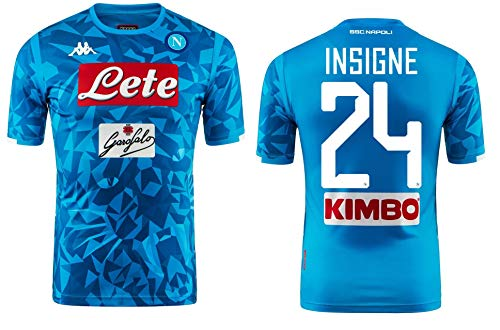 Kappa SSC Napoli Insigne Replica Home Shirt 2018-19 Original XL (Chest 42  864fbdab9b813