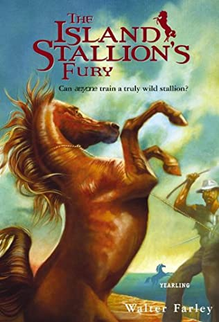 book cover of The Island Stallion\'s Fury
