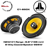 JL Audio C1-650x 6-1/2' 2-Way Coaxial Car Audio Speakers