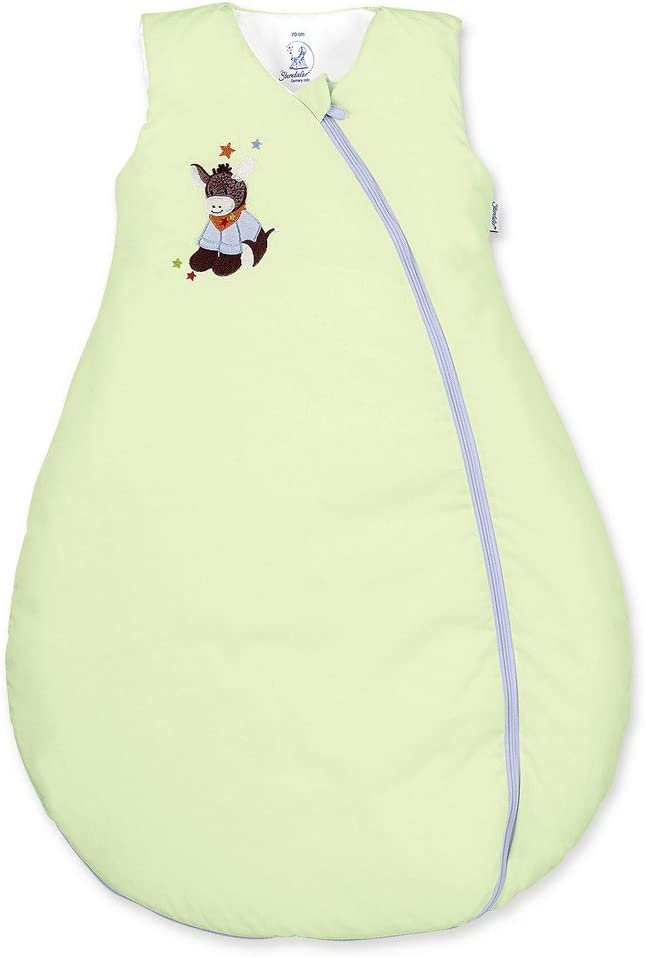 Sterntaler Saco de dormir de bebé, Uso durante todo el año, Termorregulación, Con Cremallera, Tamaño: 70 cm, Burro Emmi, Verde: STERNTALER: Amazon.es: Bebé