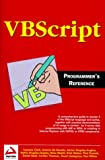 img - for VBScript Programmers Reference book / textbook / text book