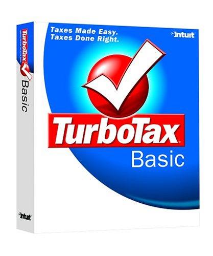 Intuit TurboTax Basic 2004 [Old Version]