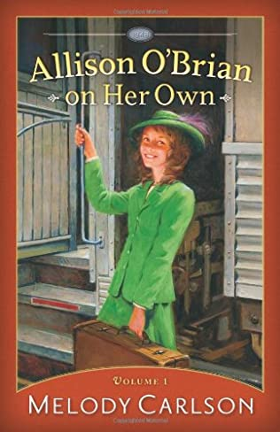 book cover of Allison O\'Brian on Her Own