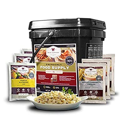 Wise Foods 84 Servings Breakfast Entree GrabGo Gluten Free Kit, Black
