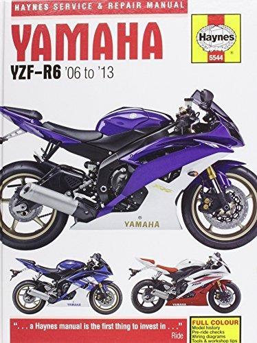 yamaha r6 service manual - 6