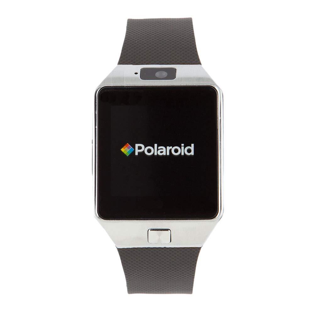Polaroid sw1502 Smartwatch, Negro/Plata: Amazon.es: Relojes