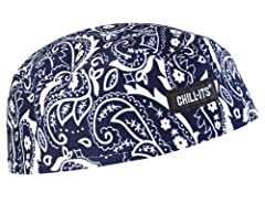 Ergodyne Chill-Its 6630 Performance Skull Cap is made of a lightweight moisture-wicking fabric and comes in a variety of colors and patterns. The built-in terry cloth headband keeps sweat out of the eyes to keep the wearer comfortable and dry...