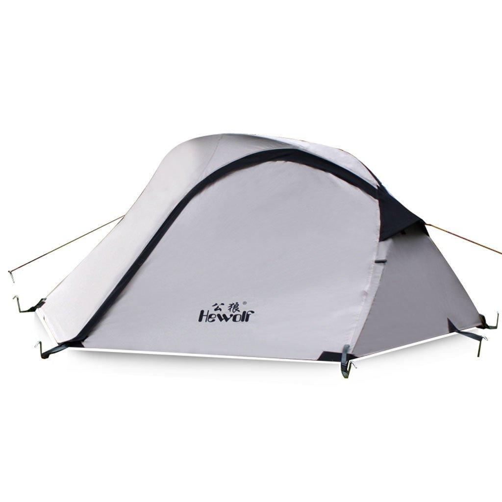 Doppelstock Outdoor-Zelt Zelt Multiplayer regen Campingausrüstung Reise mit 2 Personen