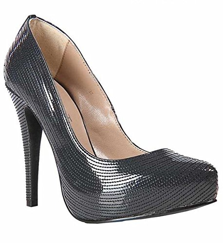 Apart - Zapatos de vestir de material sintético para mujer negro negro 41