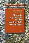 20 ans de psychologie sociale expérimentale francophone par Beauvois