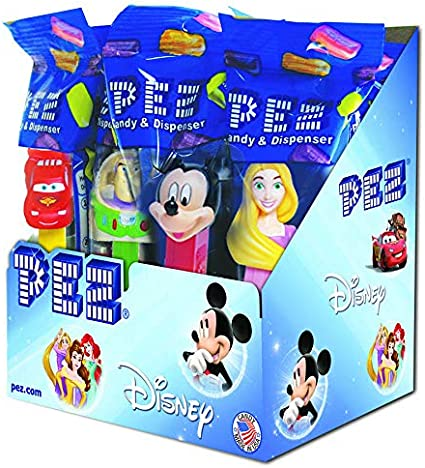 PEZ Disney, Best of Pixar, 0.58-Ounce Assorted Candy Dispensers ...