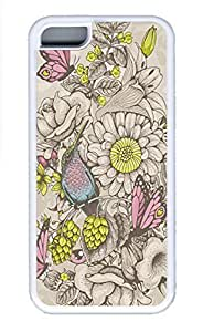 Cases For iPone 5C - Summer Unique Cool Personalized Design Butterflies And Bees