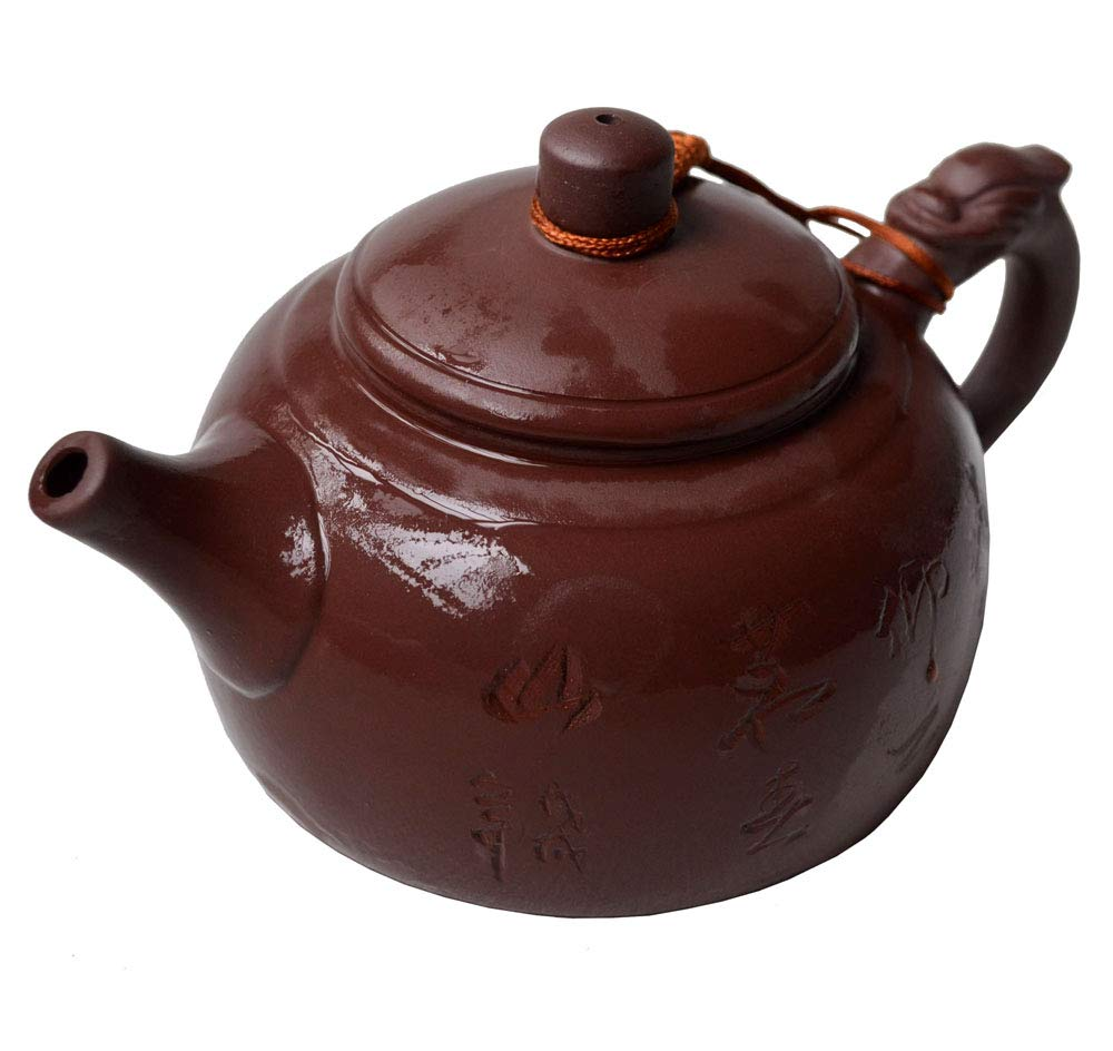 Teapot 10.8oz Yixing Chinese Dragon Zisha Tea Xianghe Pots