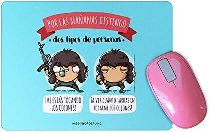 Missborderlike Alfombrilla de Raton mañanas distingo Dos Tipos de Personas: ¡Me estás Tocando los cojones!: Amazon.es: Electrónica
