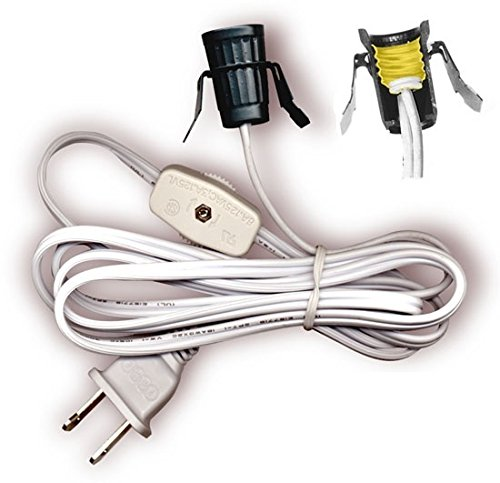 Outdoor Lamp Socket With Cord - 7