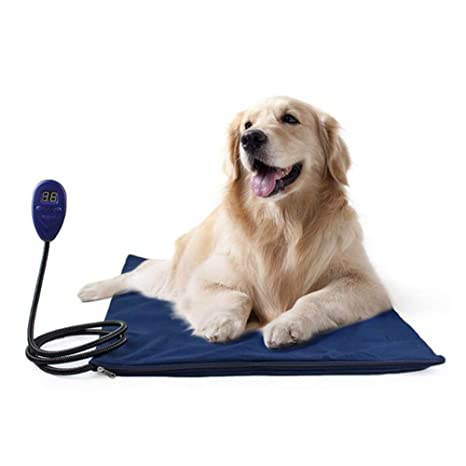 WLDOCA Almohadilla De Calentamiento para Mascotas,Almohadilla De Calentamiento para Perros Y Gatos con 7