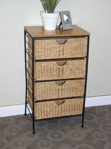 Four-Drawer Steel Chest