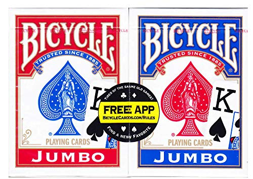 Bicycle Playing Cards 2-Pack - Jumbo Index